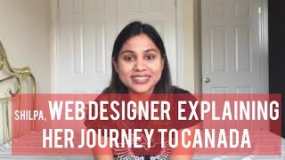 Shilpa (Web designer) explaining her journey to Canada!! TAURUS INFOTEK SUCCESS STORY