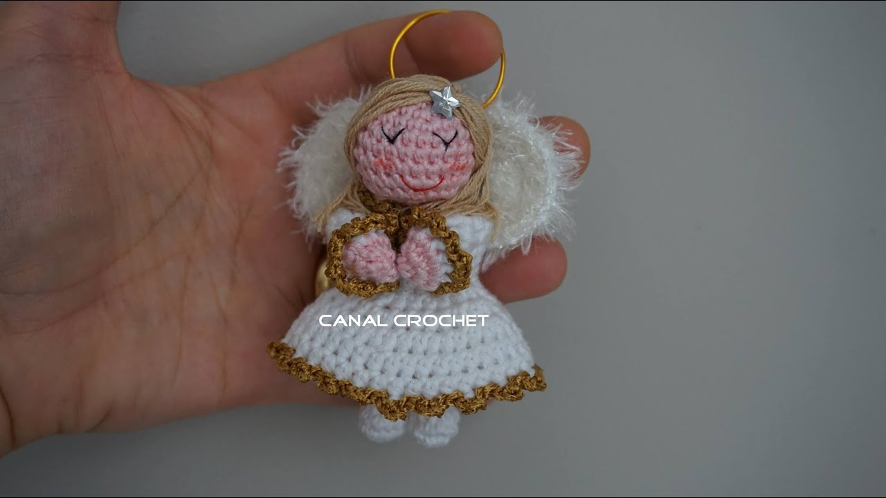 Crochet Amigurumi Doll Angel - Free Patterns | Crochet dolls free ... | 720x1280
