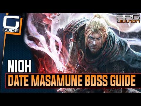 Nioh - Date Masamune Boss Walkthrough (No Items or Magic, only Elixirs)