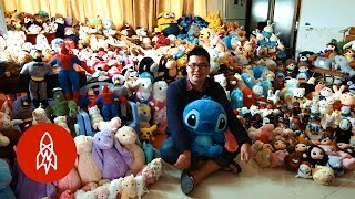 Chen Zhitong Won 15,000 Stuffed Animals From Claw Machines Last Year