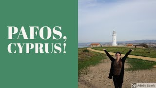 Solo Travel in Pafos, Cyprus!