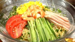 Hiyashi Chuka (Summer Noodles Recipe) | Cooking with Dog