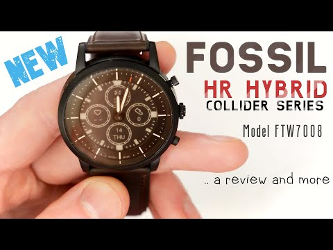Fossil's New Hybrid Smartwatch With E-Ink Display - Collider HR Review!