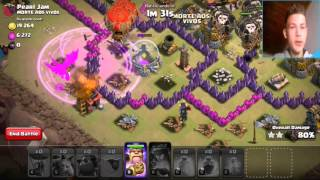 Let's play clash of clans#21/- 50 vs 50!!
