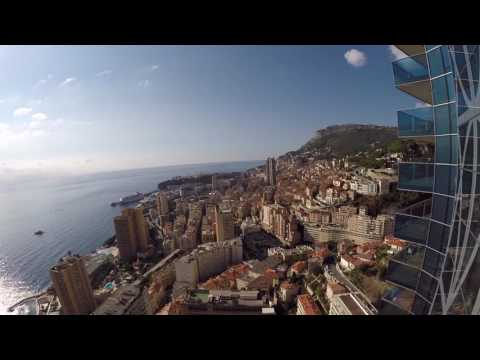 "MPG40   Inside the ""Tour Odeon"" - Highest Building in Monaco"