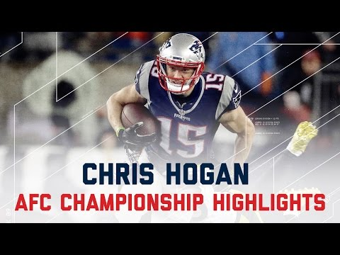 Chris Hogan Sets Team Record With 180 Rec. Yards!   Steelers Vs. Patriots   AFC Champ Highlights