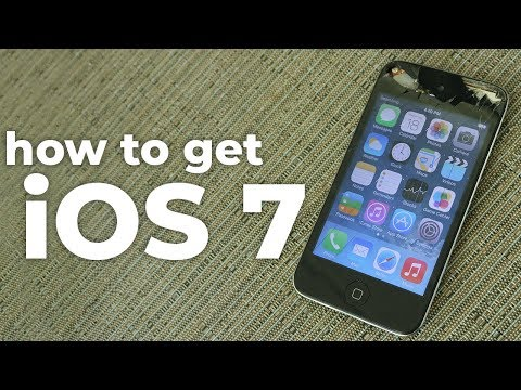 How To Install IOS 7 On The IPod Touch 4!