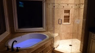 How To Build, Remodel Bathroom From Scratch - Befor And After ! Complex Bath Remodeling In Atlanta
