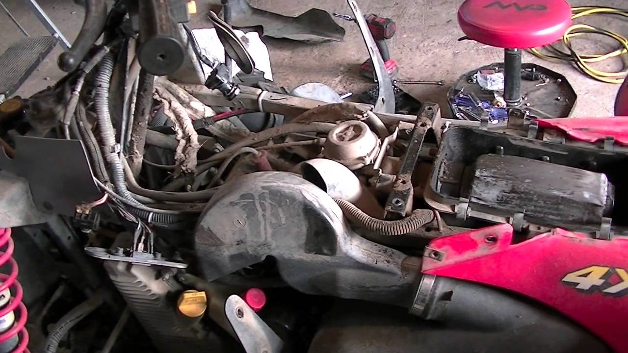 polaris scrambler repair part engine removal polaris scrambler repair part 1 engine removal