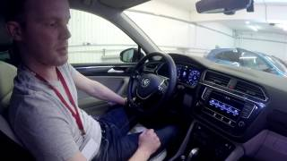 Volkswagen Tiguan 2017 р. в.: ANDROID-система AIRTOUCH 4G на борту