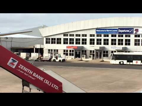 International Airport Freetown Sierra Leone