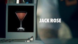 Jack Rose Drink Recipe - How To Mix