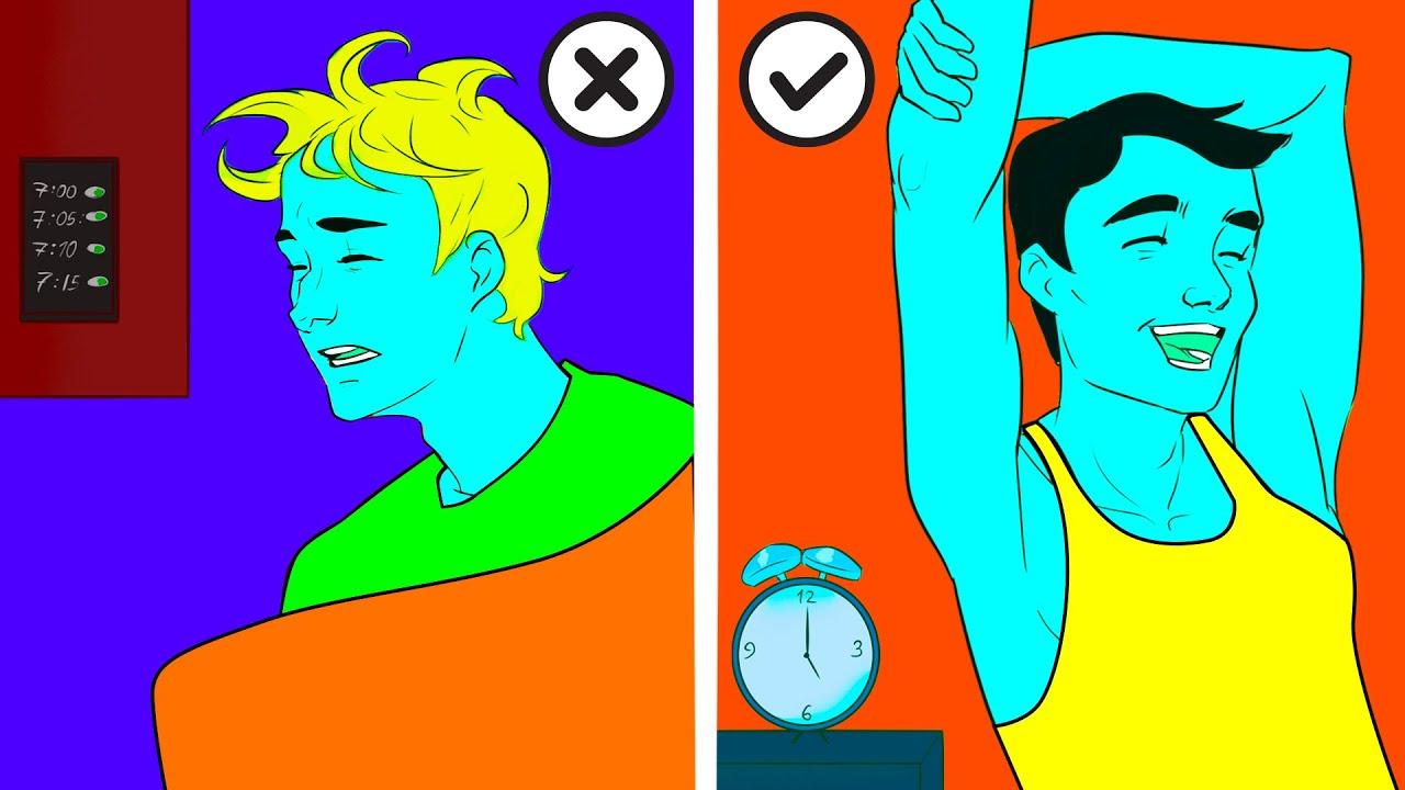 20 отличных приёмов, чтобы заснуть через минуту