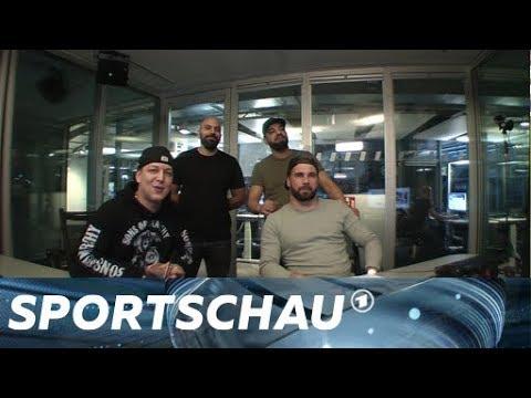 Youtuber kommentieren das DFB-Pokal-Halbfinale - die Highlights   Sportschau