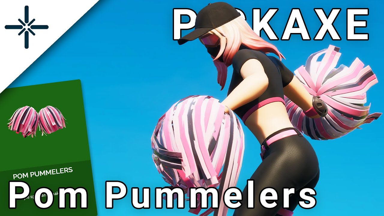 Pom Pummelers Fortnite Dual Pickaxe Gameplay (Athleisure Assassin Skin Harvesting Tool)