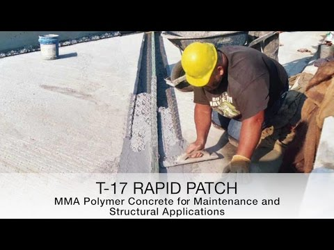 T17 MMA Polymer Concrete Rapid Patch
