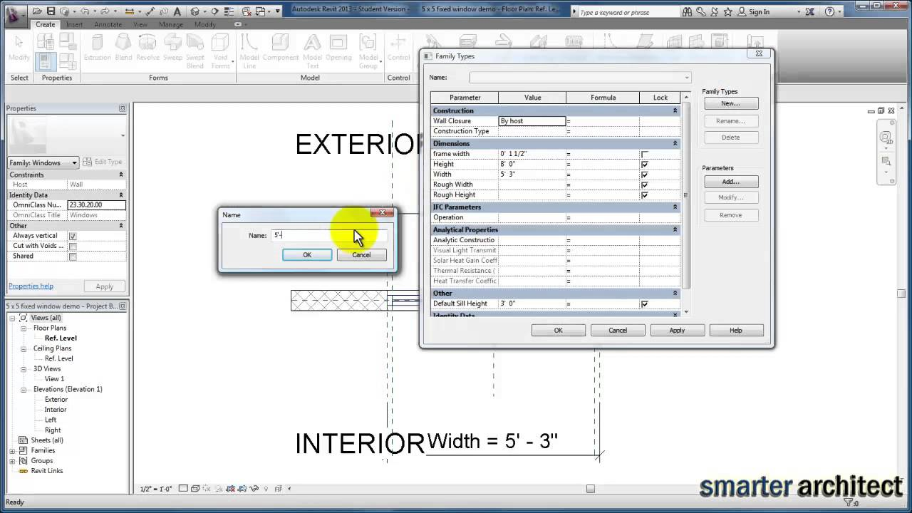 Revit tutorials: nesting window family components part 2 youtube.