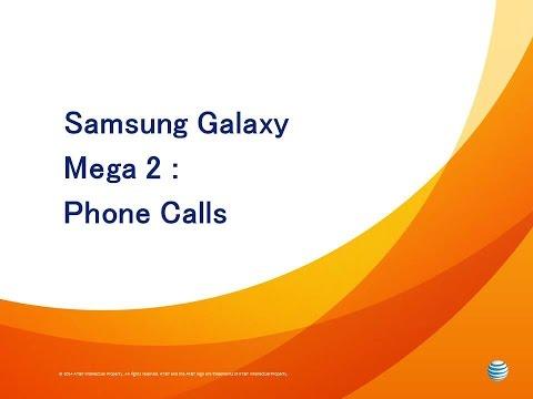 Samsung Galaxy Mega 2 : Phone Calls