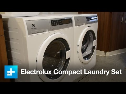 Electrolux Compact Washer & Dryer set - Hands on