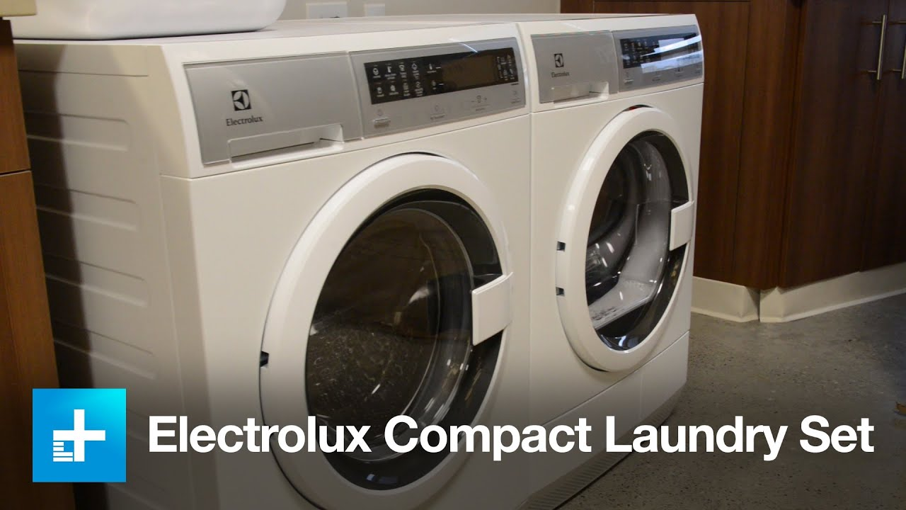 Electrolux Compact Washer Amp Dryer Set Hands On Youtube