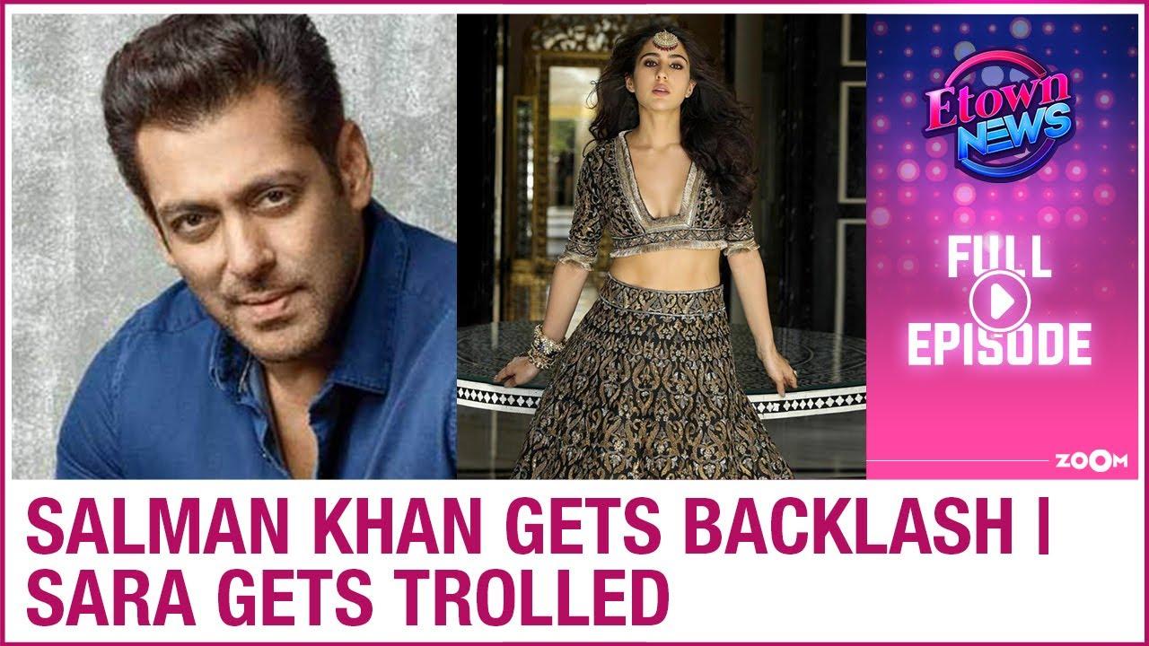 Salman Khan gets slammed by netizens | Sara gets trolled for religious beliefs | E-Town News
