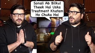 Sonali Bendre's Husband Goldie Behl Gets Emotional While Talking About Her Hard Time