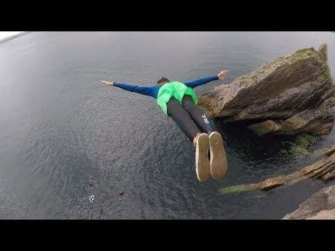 Torquay Cliff Jumping 'Big Mac'