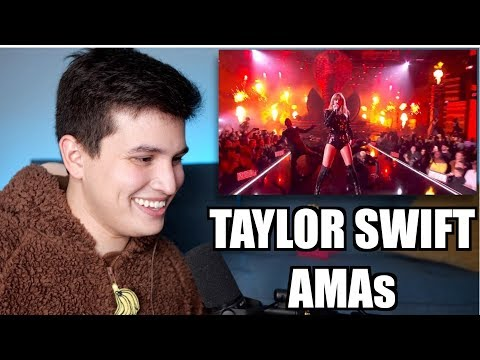 Vocal Coach Reaction to Taylor Swift's AMAs