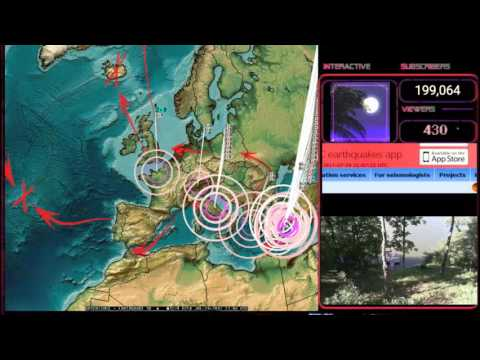 7/24/2017 -- English Channel Earthquake struck as expected -- New Europe EQ watch