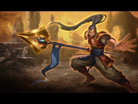 League of Legends - Platinum Xin Zhao - YouTube