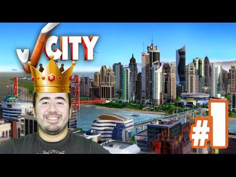 SimCity Oynuyorum #1 - Oyuncu Başkan