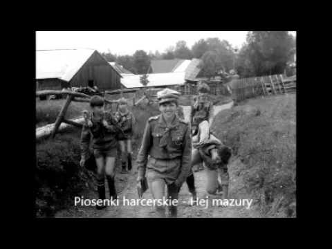 Hej mazury - Tekst  - Chwyty - Piosenki harcerskie