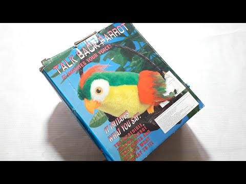 TALK BACK PARROT Toy review .....official channel (Indian chatpat toy store)