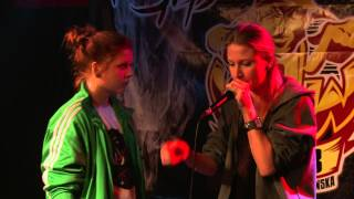 Noisy Girl vs Mystic - Female Final ♥ Polish Beatbox Battle - BBB³TV