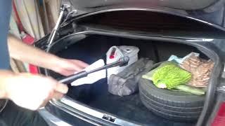 замена газовой пружины крышки багажника 2697LZ Stabilus на Volkswagen Bora