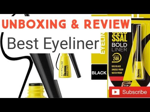 Eyeliner Maybelline Newyork's Colossal Eyeliner review Womens Eyeliner Makeup Fashion liquidEyeLiner