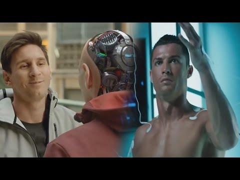 Cristiano Ronaldo & Lionel Messi As Robots ● TV Commercial 2016/17