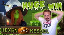 MASSIVE WIN in Hexen Kessel slot