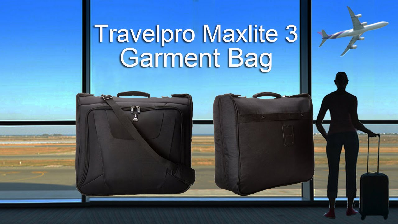 Find Best Prices Travelpro Maxlite3 Garment Bag Carry-on :Luggage ...