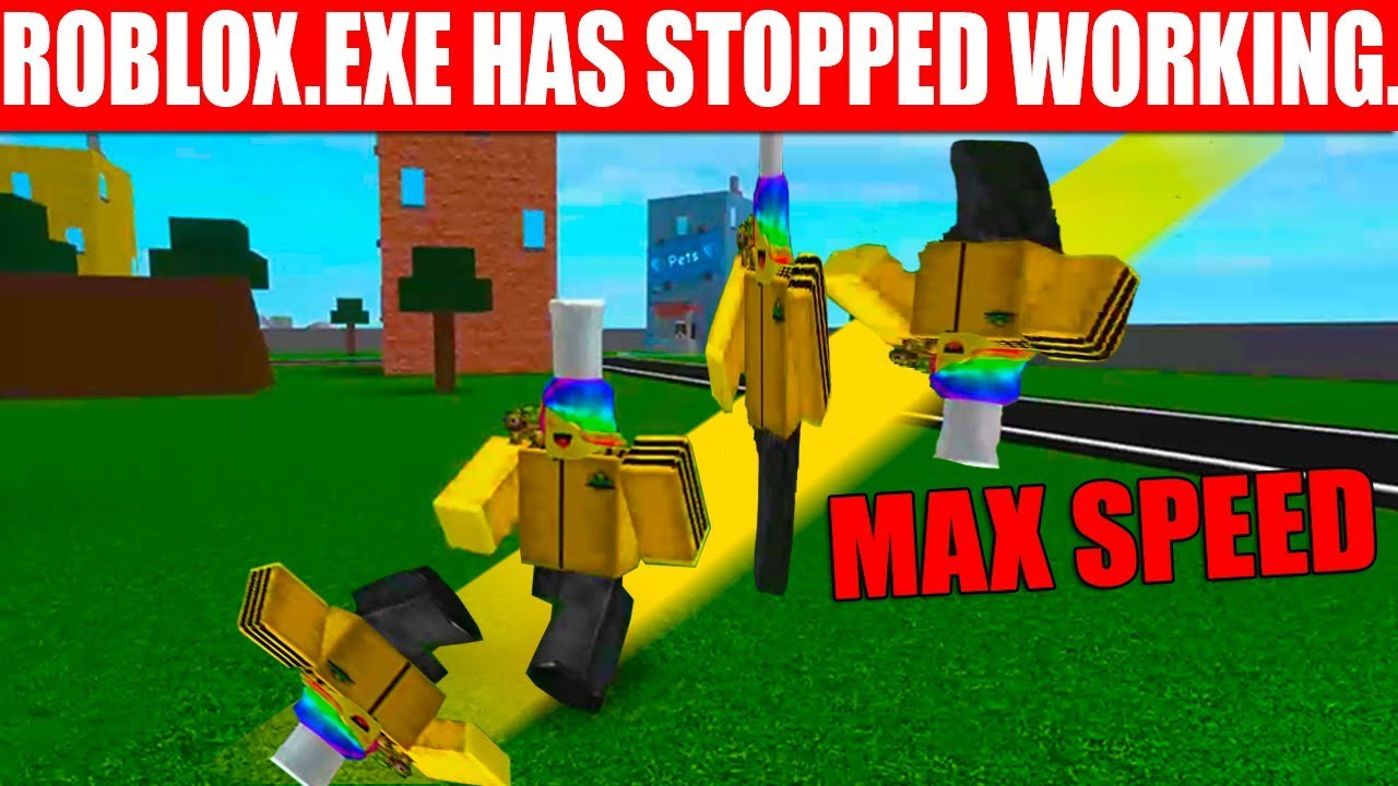 How MAX SPEED RUINED Roblox Speed Simulator..*DON'T DO IT!*