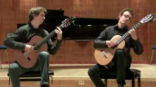 Tango Suite for two guitars- Allegro - Astor Piazzolla - played by Copenhagen