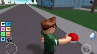Melle spelar ROBLOX Pokemon Go