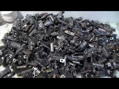Переработка содержимого посылки микросхемы транзисторы