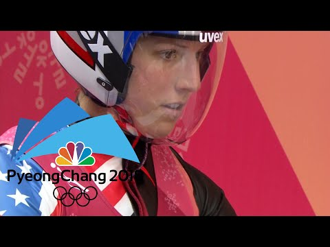 USA's Erin Hamlin misses out on medal in singles luge