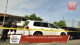 Two killed in drive-by shooting in KK