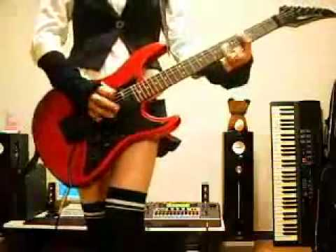 Motorhead Ace Of Spades Japan Guitar Girl Youtube