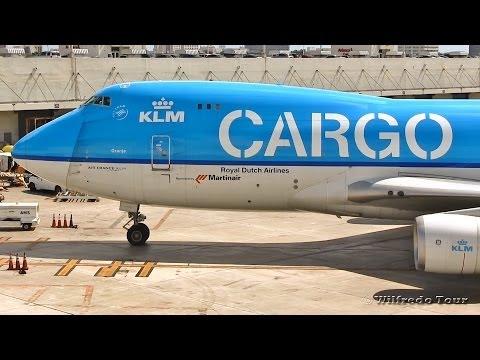 KLM Cargo 747-400 Takeoff at Miami Intl