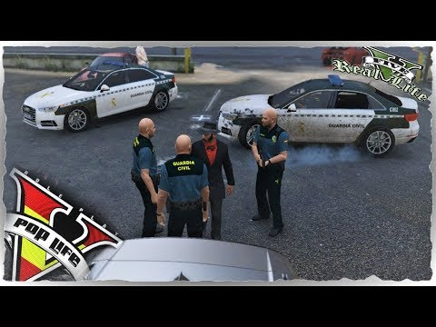 GTA V PoP Life Role Play |POLIS EN ACCION (FICHAMOS AL YONY PUÑOS DE HIERRO)