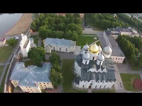 Великий Новгород, Софийский собор и звонница