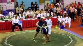世運相撲 女子重量級冠軍戰